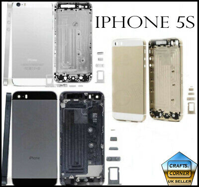 £3.49 • Buy Alloy Metal Back Battery Housing Cover Case Replacement For IPhone 5s | UK