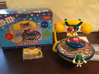 $37.99 • Buy M & M's Candy Dish Telephone, New In Open Box
