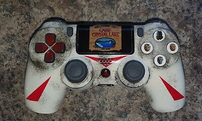 AU186.48 • Buy PS4 Dualshock 4 Controller - Jason Voorhees Edition - Friday The 13th - Custom