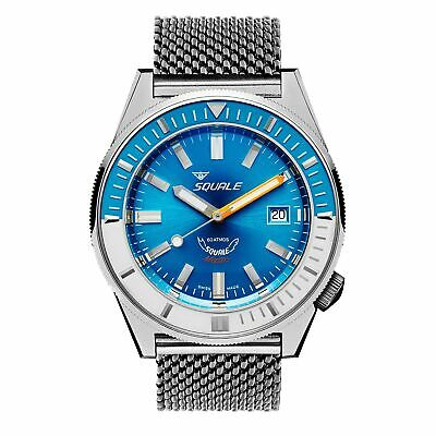 $ CDN2113.38 • Buy Squale MATICXSE.ME22 600 Meter Swiss Automatic Dive Wristwatch Mesh