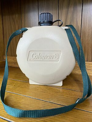 $ CDN25.50 • Buy Coleman 2 Qt. Plastic Canteen Hiking / Camping Water Bottle With Strap