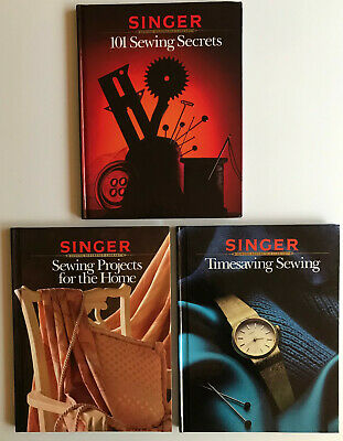 3 X Singer Sewing Reference Library Hardback Books • 3£