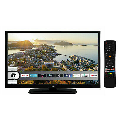 £144.95 • Buy Bush ELED24HDS 24 Inch HD Ready Smart Led TV With Built In Wi-Fi - Black