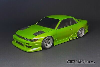 RC Body Car Drift 1:10 Nissan Silvia S13 V2 Wide Coupe Style APlastics New Shell • 29.45£