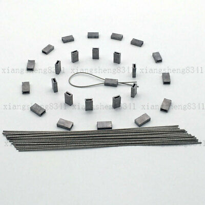 20 Meter TAGS SECURITY TAG Ferrules SEALS FOR ELECTRIC BOX/taxi's • 7.99£