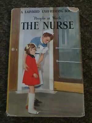 Ladybird Book,The Nurse,People At Work,Series 606B,1st Edition • 9.99£