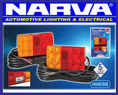 AU105 • Buy NARVA Submersible Trailer LED Combination Light Lamp Pack Marine Boat 93642TP