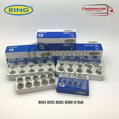 £13.95 • Buy 40 X Ring Quality Assorted 12 Volt Car Bulbs Set 10 Of Each - 380 382 207 501