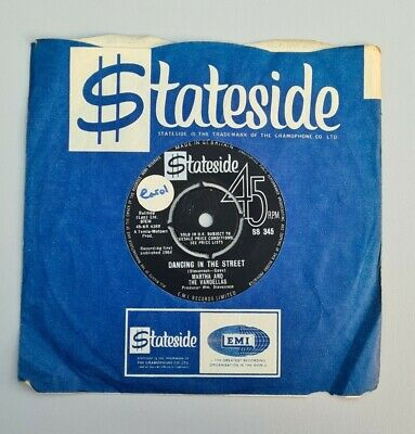 Martha And The Vandellas Dancing In The Street SS 345 1964 • 12£