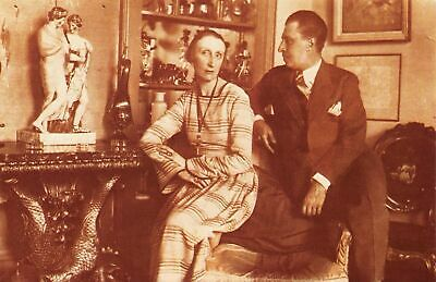 £1.99 • Buy Nostalgia Postcard English Poet Edith Sitwell And Brother Osbert Sitwell NS16