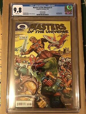 $84.99 • Buy Masters Of The Universe #1 Gold Foil Variant CGC 9.8 INVINCIBLE Preview Kirkman