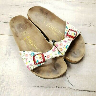 Womens Birkenstock Papillio Madrid Sandals Size 38 Regular UK 5  #C27 • 18£