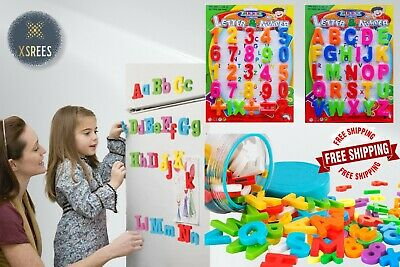 £2.75 • Buy Magnetic Letters Alphabet & Numbers Fridge Magnets Toys Kids Learning