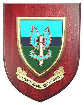 63 Sas Signal Sqn Special Air Service  Hand Made In The Uk Regiment Mess Plaque • 19.99£