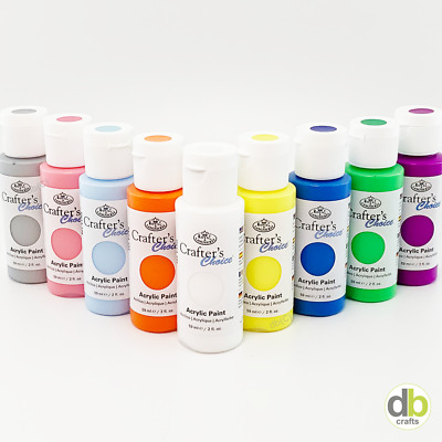 £1.50 • Buy Royal & Langnickel Crafter's Choice Acrylic Paint 59ml 2oz Over 100 Colours