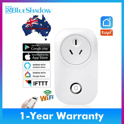 AU18 • Buy AU Smart Wifi Plug Remote Control Timer Power Socket Amazon Alexa Google Home