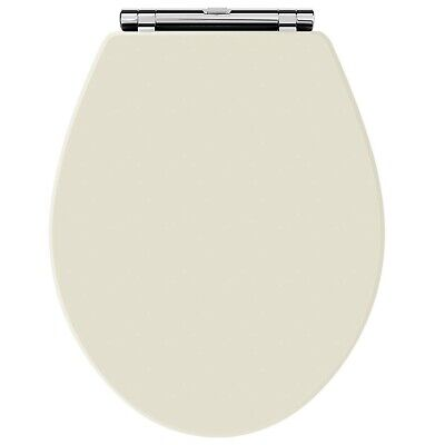 Old London NLS399 Natural Walnut Chancery Toilet Seat, Ivory • 88.36£