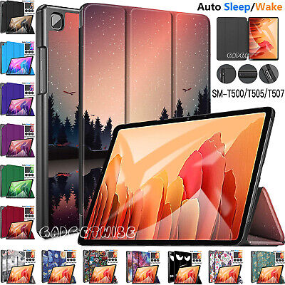 Smart Case Leather Magnetic Tough Cover For Samsung Galaxy Tab A7 10.4 Inch 2020 • 7.88£