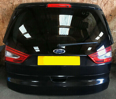 Ford Galaxy Zetec 2010-2015 Complete Tailgate Panther Black (metallic) Fits 2011 • 150£