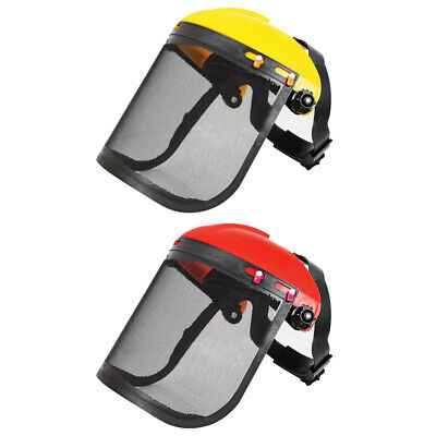 £8.75 • Buy Electric Cutting Chainsaw Safety Helmet Lawnmower Trimmer Protective Mask