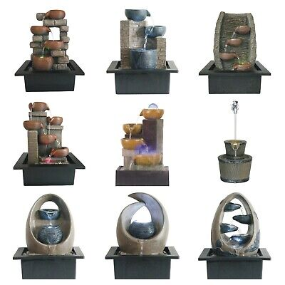 AU60 • Buy Water Fountain, Water Feature, With LED Light