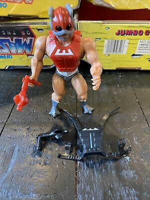 $29 • Buy Vintage Masters Of The Universe He-man Figure ZODAK COMPLETE 1982 W Weapon