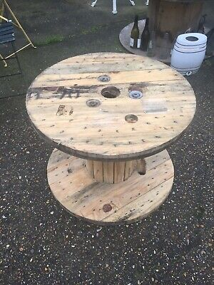 Wooden Cable Drum • 28£