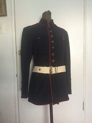 $65 • Buy  USMC Dress Blues Uniform Coat Tunic Post  WWII WW2 Marines Korea