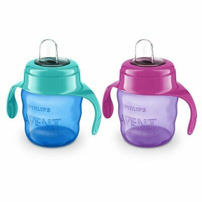 £9.80 • Buy Philips AVENT Baby Girls Boys Easysip Spout Training Cup 200ml 6 Months+
