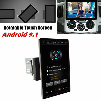 $242.49 • Buy 2DIN 10.1'' Rotatable Android 9.1 Car Stereo Radio 1+16G WIFI AUX GPS MP5 Player