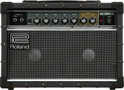 AU655.62 • Buy Roland Jazz Chorus Guitar Amplifier 30W JC-22 Audio Equipment Jc Clean