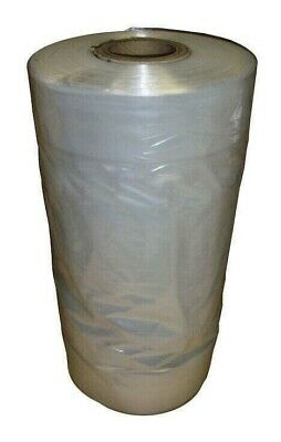 £5.99 • Buy Clear Polythene Garment Covers Clothes Suit Dress Plastic Bags Poly Roll
