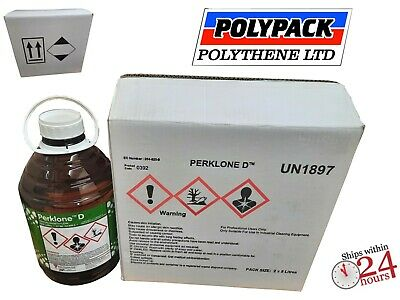 Perc / Perchloroethylene Dry Cleaning Fluid & Stain Remover 5 ,10, 20 Litre • 28.99£