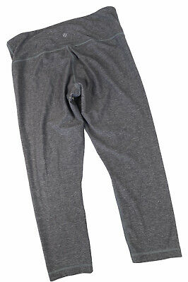 $ CDN10.21 • Buy Lululemon Size 8 Grey Capri Leggings