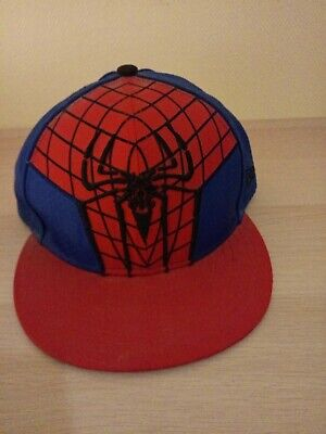 SPIDERMAN  Amazing Spiderman 2012 MARVEL  Fitted Cap New Era 59Fifty 59.6cm Size • 110£