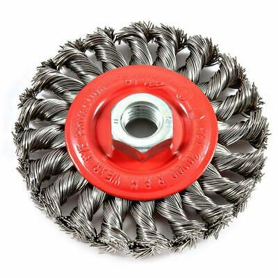 $ CDN19.93 • Buy Forney 72759 Angle Grinder Coarse Wire Wheel Knotted Brush 4 Inch 5/8-11 Arbor