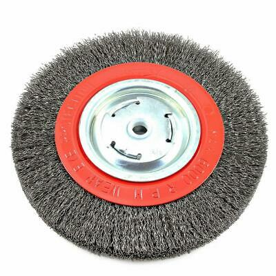 $ CDN23.68 • Buy Forney 72762 Bench Grinder Wide Face Wire Wheel Crimped Brush 8 Inch 5/8 Arbor