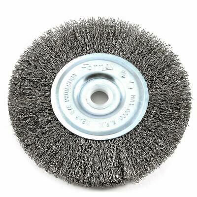 $ CDN11.19 • Buy Forney 72741 Bench Straight Grinder Wire Wheel Crimped Brush 5 Inch 5/8 Arbor
