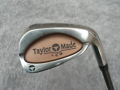 TaylorMade Burner LCG # 8 Iron - Bubble 2 Shaft S-90 Stiff Graphite ~USED~ • 19.99£