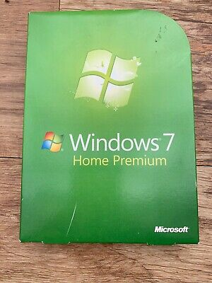 Microsoft  Windows 7 Home Premium Full Install 64 & 32 Discs • 59.95£