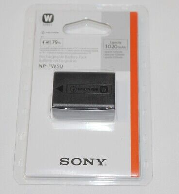 New 100% Genuine Original SONY NP-FW50 Battery  • 38.50£