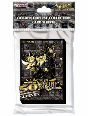YUGIOH: Golden Duelist Card Sleeves ~ 50 Tournament Legal Sleeves  • 8.99£
