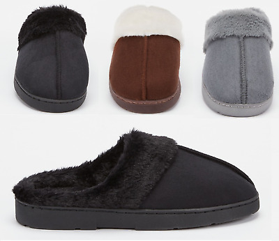 Ladies Mule Slippers Ladies Mules Slip On Slippers Sheepskin Slippers Hard Sole • 6.89£