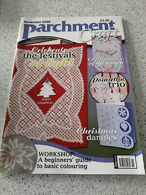 NEW, Parchment Craft Magazine, November 2008 • 3£