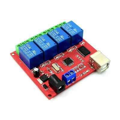 AU22.95 • Buy 4 Channel 5V Low Level USB Relay Module