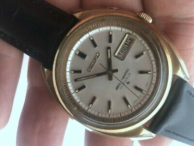 $ CDN56.14 • Buy Nov 1969 SEIKO BELL-MATIC AUTOMATIC 4006-7001 ALARM GOLD FILLED 39mm WORKING