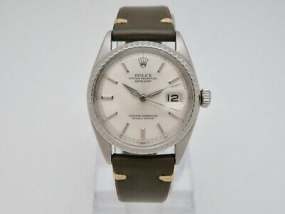 $ CDN4609.97 • Buy 1965 Rolex Oyster Perpetual Datejust 1603 Mens Vintage Wristwatch Cal. 1560
