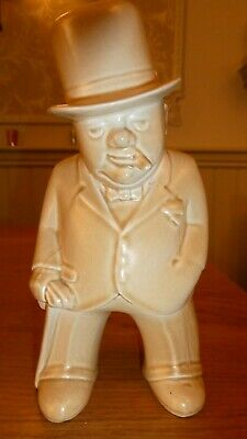 £135 • Buy Bovey Pottery Winston Churchill 'The Boss' 1940s Figurine From 'The Gang' Of 16