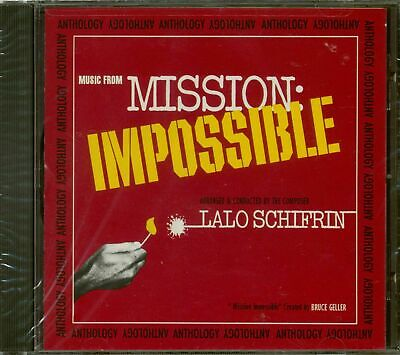 Lalo Schifrin - Mission Impossible Anthology CD • 18.99£