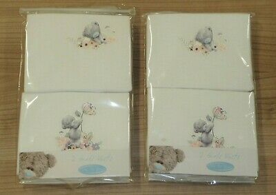 £3.99 • Buy 4 PACK OF GIRLS TATTY TEDDY ME TO YOU 100% COTTON WHITE VESTS 3-4 To 7-8 YEARS